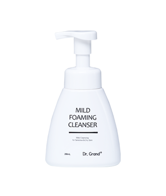 Mild foaming cleanser